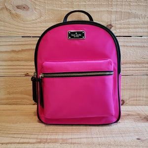 Kate Spade Small Bradley Wilson Road Backpack Pink